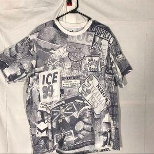 Men's Roca wear 2x throwback design shirt